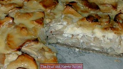 Alsatian apple pie