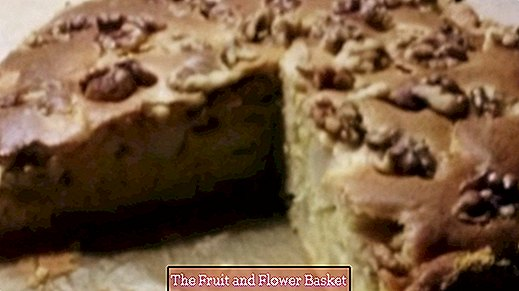 Apple pie low in sugar and fat - ideal for diabetics