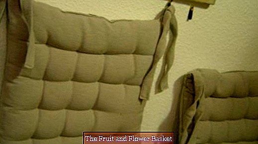 Attach back cushions to the wall without drilling
