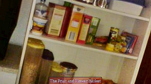 No pantry - little space in the kitchen