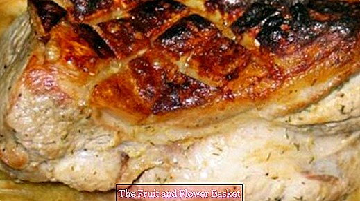 Roast pork - with or without crust