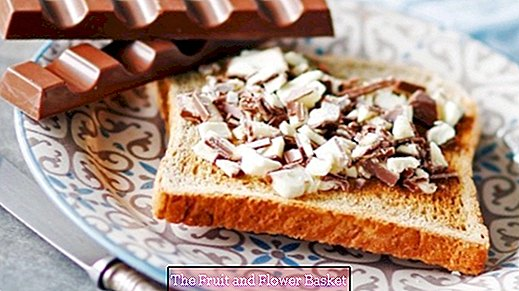 What's sweet on toast? Take child chocolate