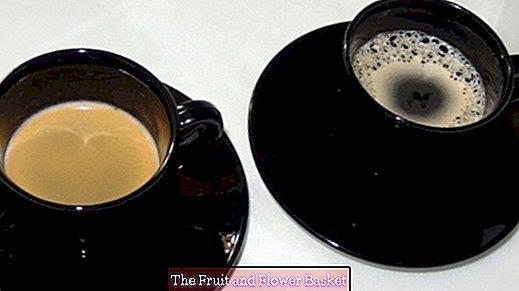 Coffee round: Thermoses with different types of coffee