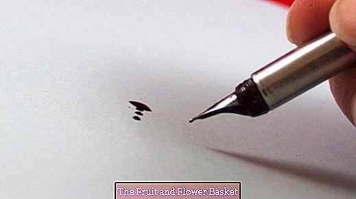 Remove ink stains on paper without ink killer