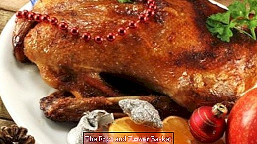 Christmas duck or Christmas goose very easy
