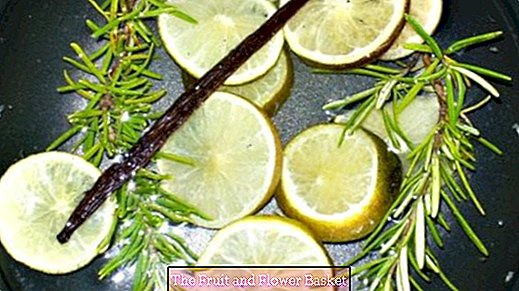 Room fragrance - homemade - without artificial additives