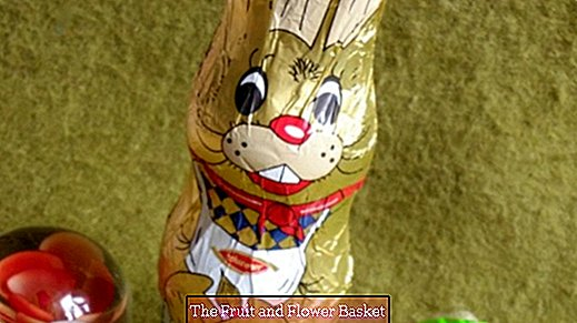 Hide a voucher in the chocolate rabbit