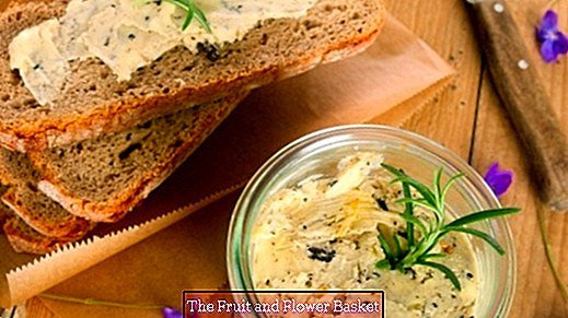 Low calorie but delicious herb butter