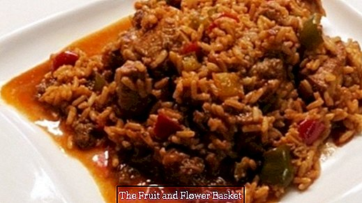 Viennese rice meat