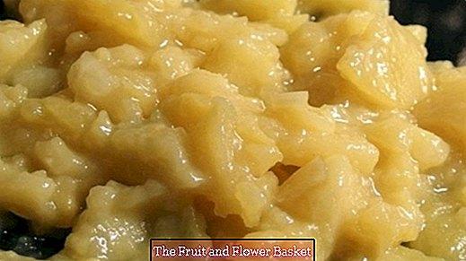 Variazione di insalata di patate
