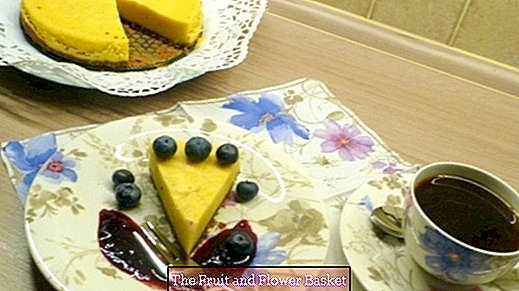 Cheese cake from the pressure cooker