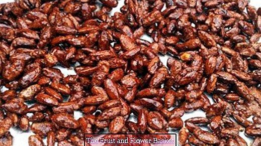 Burnt almonds - great!