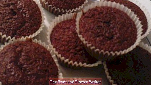 Chocolate muffins without egg