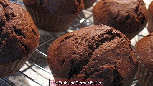 Čokoladni muffini s twix komadima
