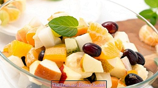 A fruit salad that always tastes good