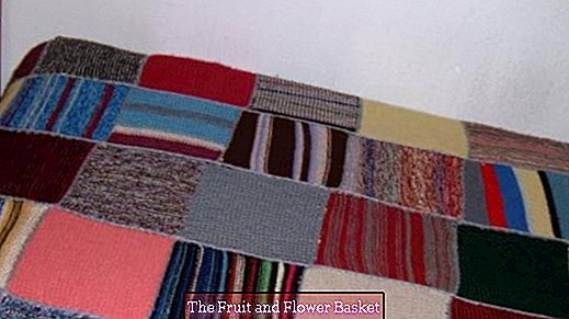Patchwork blanket (knitting)