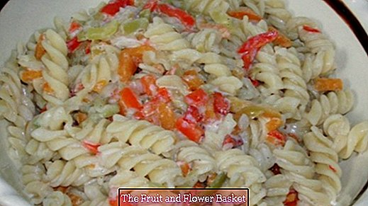 Quick Pasta Salad - little effort, much taste