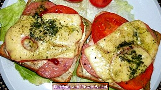 Baked Toast - Small Colorful Meal