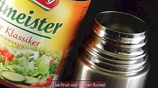Remove stench from thermo mug / thermos flask with vinegar