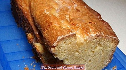 स्वादिष्ट नींबू का केक