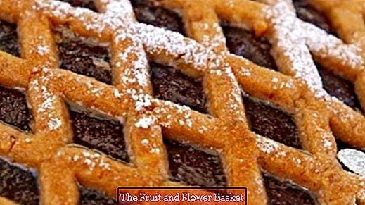 Linzer cake for vegans