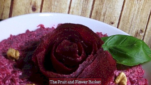 Beetroot salad of the very simple kind