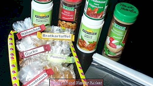Store spice mixtures more conveniently