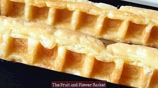 Waffles from the supermarket like homemade