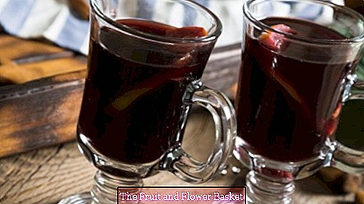 Tasty mulled wine homemade