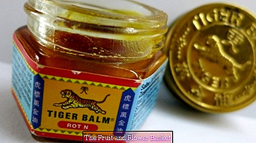 Tigerbalm red against stubborn plantar warts
